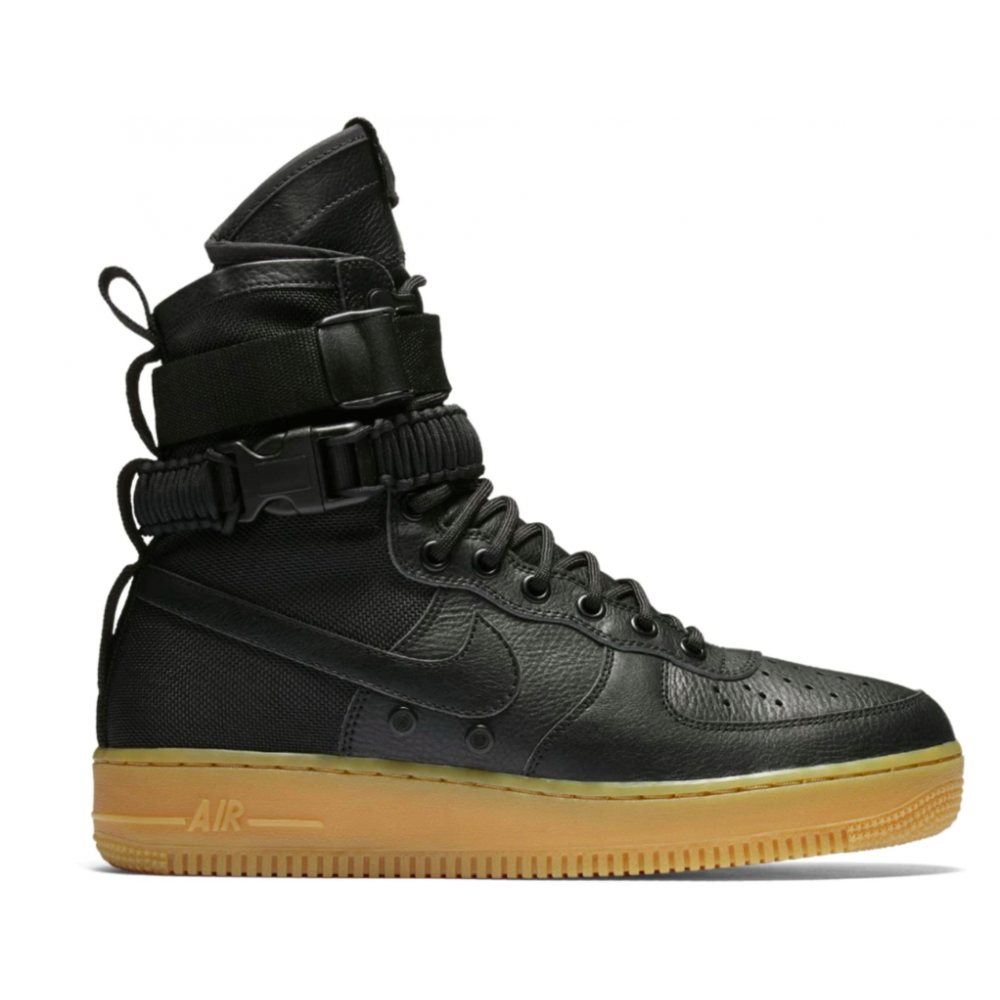 Nike Special Field Air Force 1 (черные)