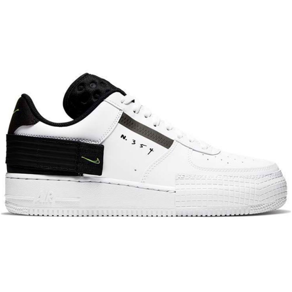 Nike Air Force 1 N 354 White (белые)