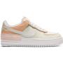 Nike Air Force Shadow Spruce white/beige (белые с бежевым)
