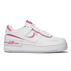 Nike Air Force 1 Low Shadow white/pink (белые с розовым)