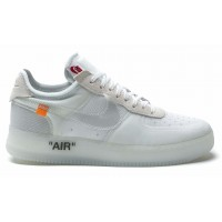 Nike Air Force 1 07 low Off White (низкие белые)