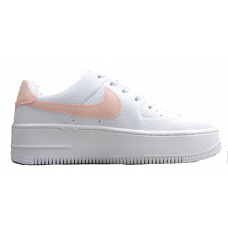 Nike Air Force 1 Low Af Sage white/pink (белые с розовым)