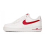 Nike Air Force 1 07 Low Shadow white red (белые с красным)