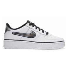Nike Air Force 1 '07 Lv8 Sport White Gray (Белые с серым)