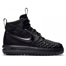 Nike Air Force 1 Duckboot Lunar 17 Black (Черные)
