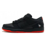 Nike Air Force 1 Jeff Staple X Dunk Low Pro Sb (Черные)