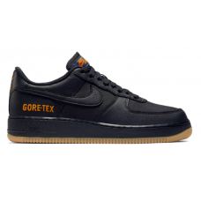 Nike Air Force 1 Low Black Gore-tex (Черные в сетку)