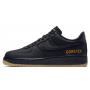 Nike Air Force 1 Low Black Gore-tex (Черные в сетку)