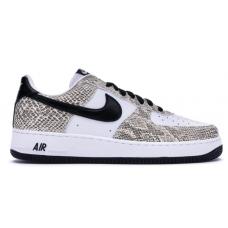 Nike Air Force 1 Low Cocoa Snake (Белые с черным)