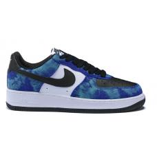 Nike Air Force 1 Low Shadow blue/white (хамелеон с синим)