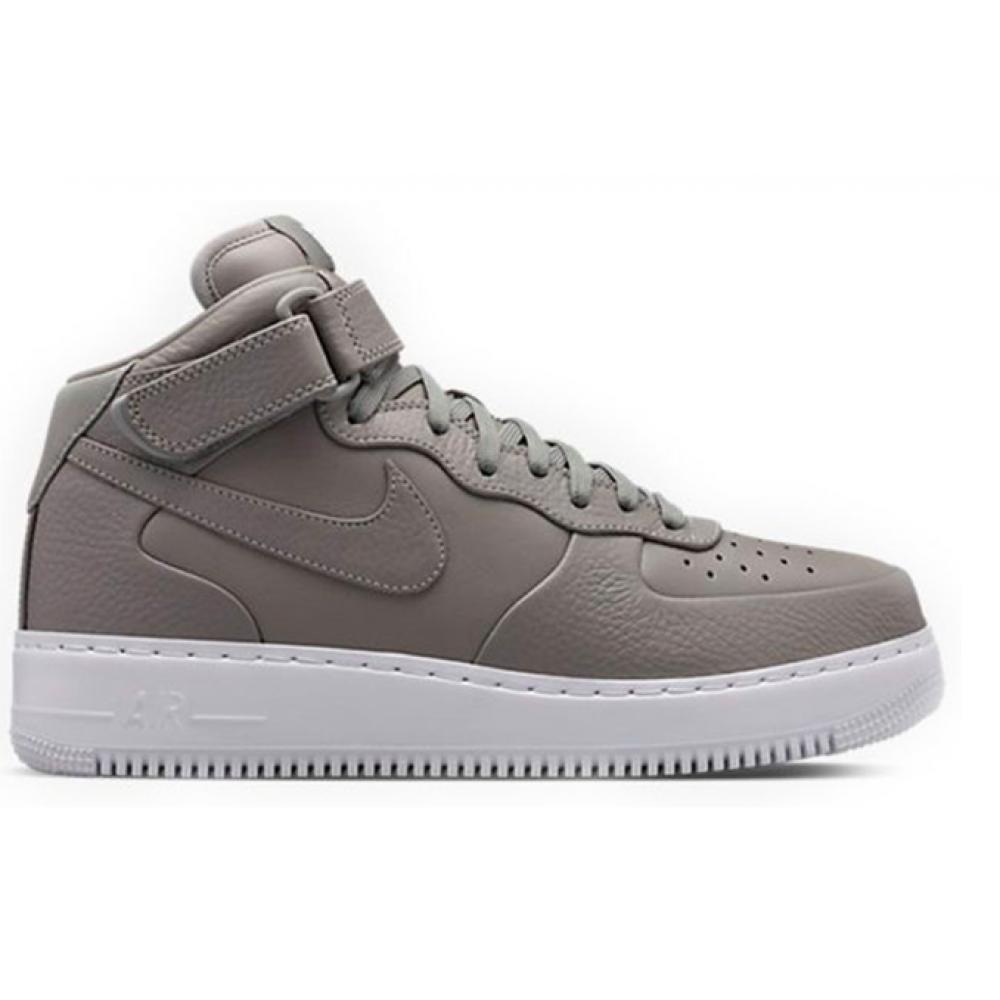Nike Air Force 1 Mid Grey (Серые)