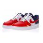 Nike Air Force 1 Obsidian/White-University Red (Белые с красным)
