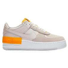 Nike Air Force 1 Shadow Grey Orange (серый с оранжевым)