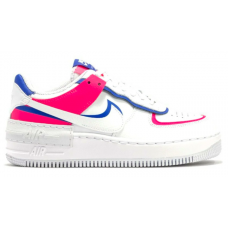 Nike Air Force 1 Shadow White Pink (Розовые с голубым)