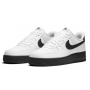 Nike Air Force 1 White (Белые с черным значком)