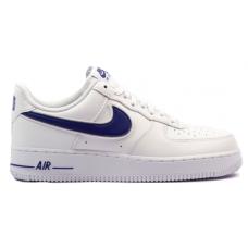 Nike Air Force 1LV8 White/Blue (Белые с голубым)