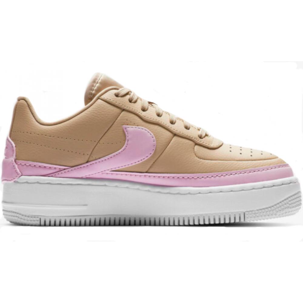 Nike Air Force Low 1 Jester XX Beige (Бежевые с белым)
