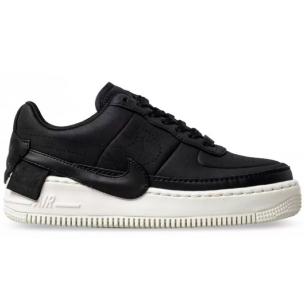 Nike Air Force Low 1 Jester XX Sonic White (Черные с белым)