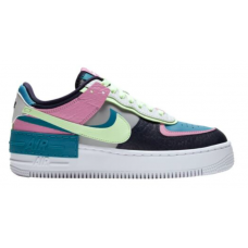 Nike Air Force Low 1 Shadow Pink Green (Разноцветные)