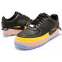 Nike Air Force Low1 Jester XX Sonic (Черные с желтым)