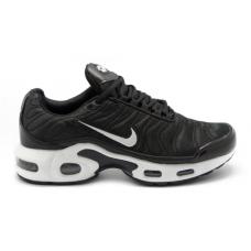 Nike Air Max TN Plus Black white (черные с белым)