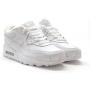 Nike Air Max 90 Leather зимние с мехом (белые)