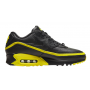 Nike Air Max 90 Black  Yellow (Черные с желтым)