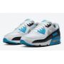 Nike Air Max 90 Blue White (Голубые с белым)