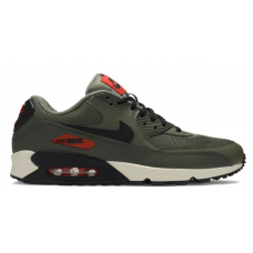 Nike Air Max 90 Gray Khaki (Хаки с белым)
