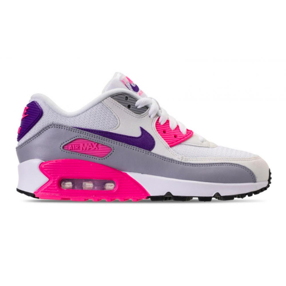 Nike Air Max 90 Gray Pink (Серые с розовым)