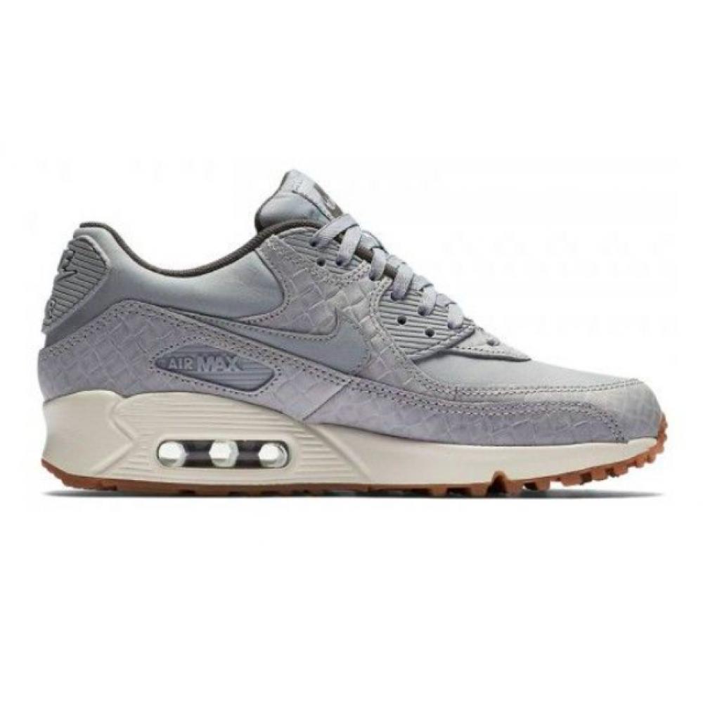 Nike Air Max 90 Gray (Серые) в сетку