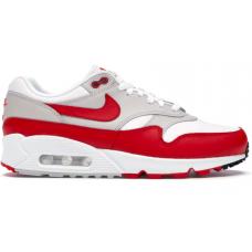 Nike Air Max 90 Red White (Красные с белым)