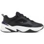 Nike M2K Tekno (Черные с синим)