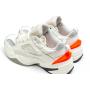 Nike M2K Tekno (Бежевые с оранжевым)
