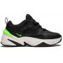 Nike M2K Tekno (Черные с зеленым)