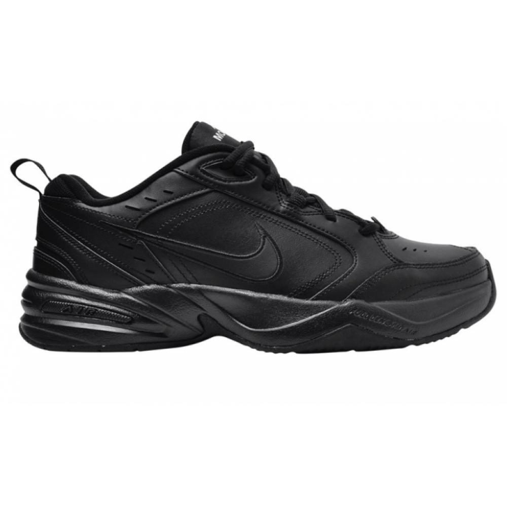 Nike Air Monarch (Черные кожа)