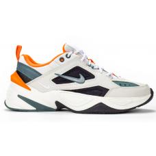 Nike M2K Tekno Gray Orange (серые с оранжевым)