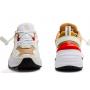 Nike M2K Tekno White/Gold (белые с золотым)