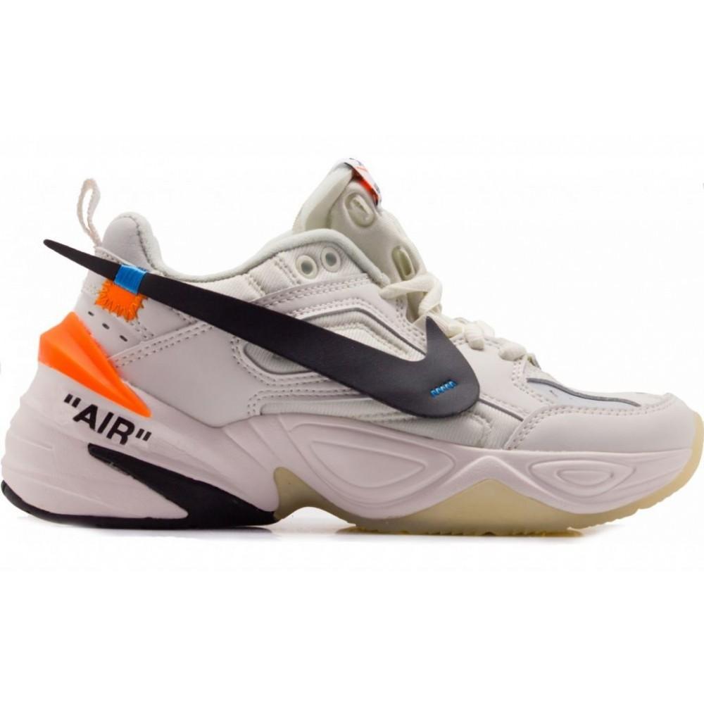 Nike M2K Tekno off white (белые)