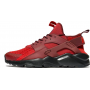Nike Air Huarache Run Ultra cherry/white (бордовые с белым)