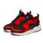 Nike Air Huarache Ultra red/black (красные с черным)