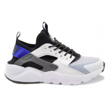 Nike Air Huarache Run Ultra blue white (синие с белым)