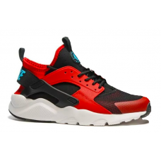 Nike Air Huarache Ultra red/black (красные с черным)