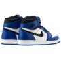Nike Air Jordan 1 Retro High white/blue (синие с белым)