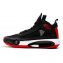 Nike Air Jordan 34 black/red (черные с красным)