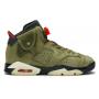 Nike Air Jordan Retro 6 Travis Scott khaki (хаки)