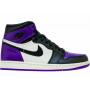 Nike Air Jordan 1 Retro High purple (фиолетовые с черным)