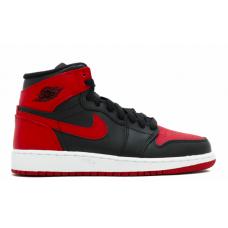 Nike Air Jordan 1 Retro High red (красные с черным)