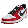 Nike Air Jordan 1 Retro low red (красные с белым)