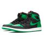 Nike Air Jordan Retro 1 High Og Black (Зеленые)